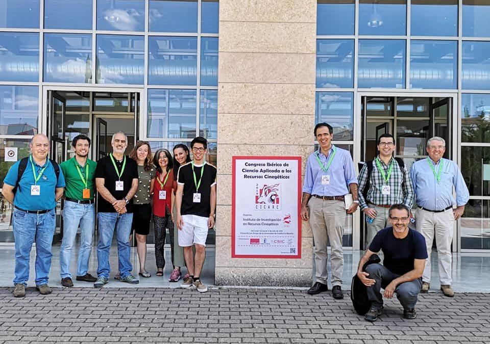 Comitiva Portuguesa no I Congresso Ibérico de Ciência Aplicada aos Recursos Cinegéticos