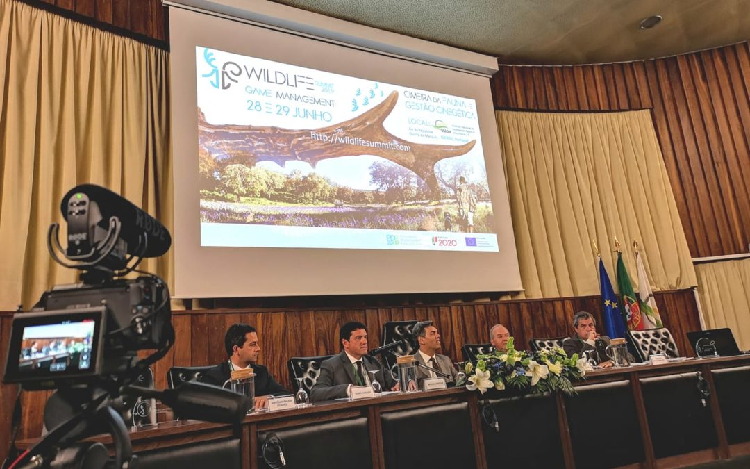 Sessão de abertura da Wildlife and Game Management Innovation Summitt