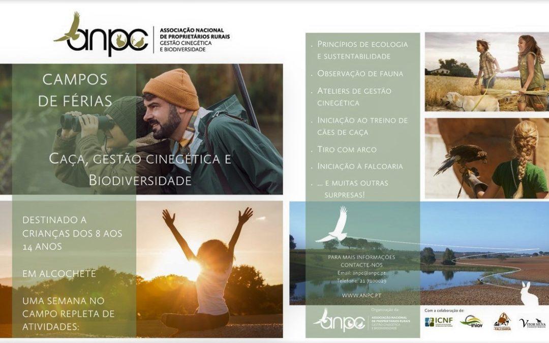 """2ª Campo de Férias ANPC – """"Caça, Conservação da Natureza e Biodiversidade"""""""