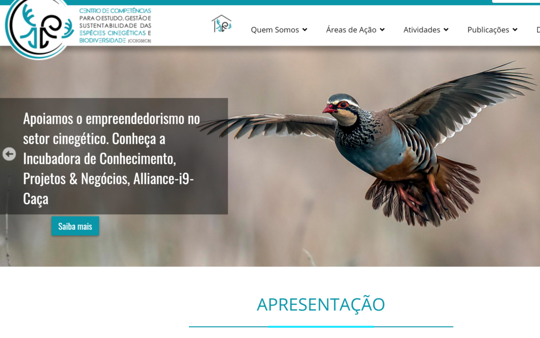 Lançado o novo Portal do Centro de Competências das Espécies Cinegéticas e Biodiversidade